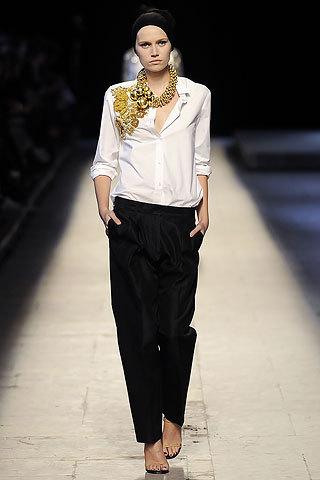 Top-10 SS09 collections (Paris FW) поверсии Style. com. Изображение № 20.