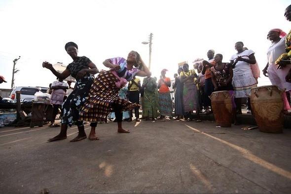 Изображение 22. Рыночные девушки из Ганы.. Изображение № 22.