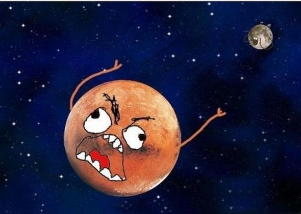 """Комикс """"Земля и Луна"""". Изображение № 12."""