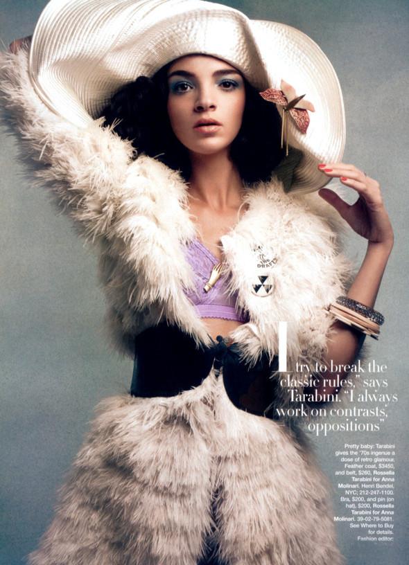 Viva Maria! Italian beauty - Mariacarla Boscono. Изображение № 31.