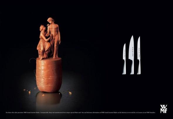 Креативная реклама ножей. Изображение № 4.