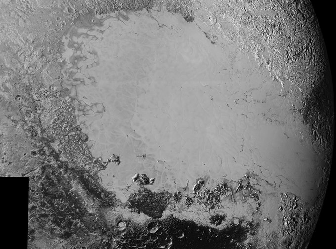 New Horizons передал новые фото Плутона . Изображение № 2.