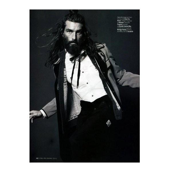 Изображение 23. Новые мужские съемки: Vogue Hommes, GQ и другие.. Изображение № 32.