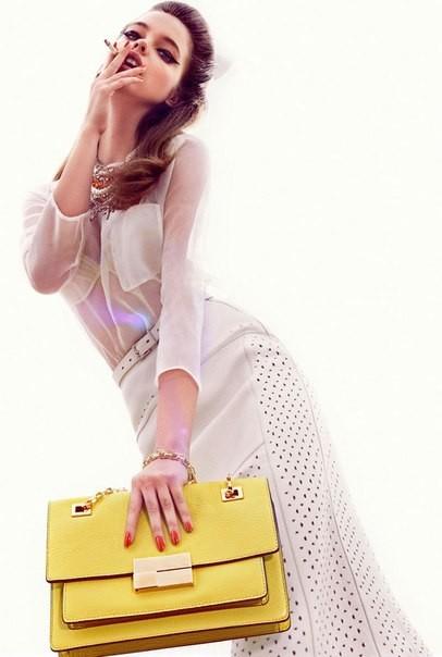 Cьемка: Барбара Палвин для Vogue Spain Febriary 2012. Изображение № 5.