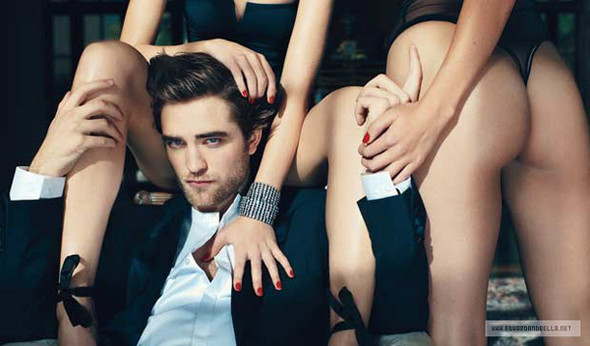 "Robert Pattison in ""Details Magazine"". Изображение № 4."