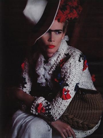 Vogue Germany, март 2010, фотограф Карл Лагерфельд . Изображение № 62.