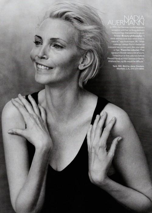 Harper Bazaar USпоказал фотомоделей безмакияжа. Изображение № 7.