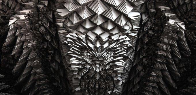 Архитекторы создали гротескные колонны на 3D-принтере. Изображение № 4.