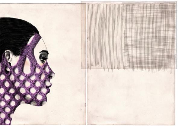 Красота женских линий припомощи двух-трех штрихов. Изображение № 11.