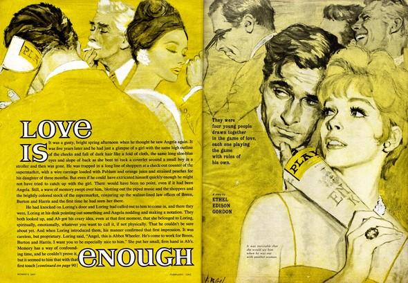 Американские иллюстраторы 40–60гг. ЧАСТЬ 1. Изображение № 31.