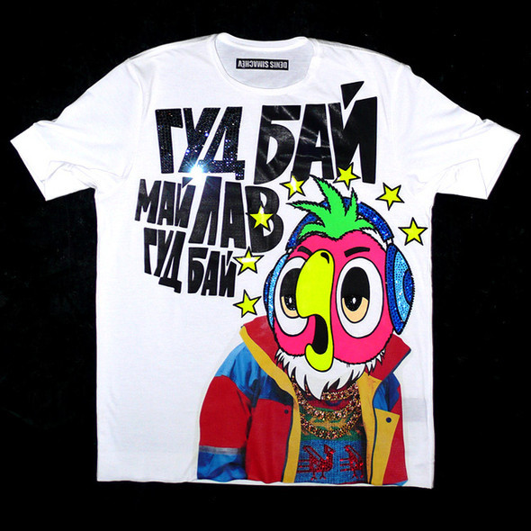 Мужские футболки DENIS SIMACHEV fw'09. Изображение № 6.