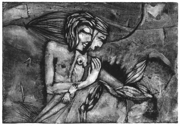 Ручная графика Ирины Сазоновой «Эхо». Изображение № 15.