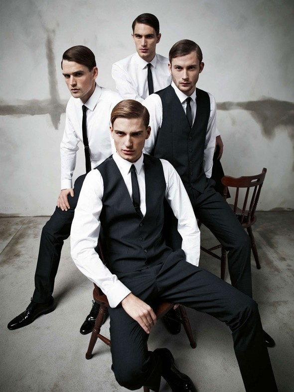 Лукбук: Dolce & Gabbana FW 2011 Men's. Изображение № 2.