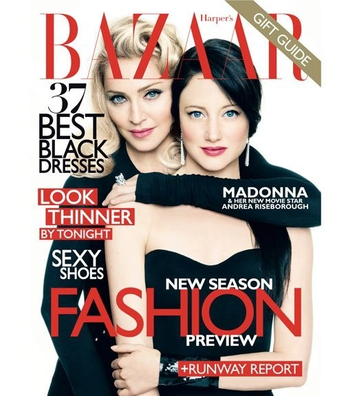 Мадонна в Harper's Bazaar. Изображение № 1.