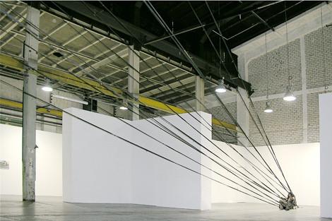 3.Return/Материалы: Спусковой механизм, проектор, ткань. Размер 30х15 . Изображение № 5.