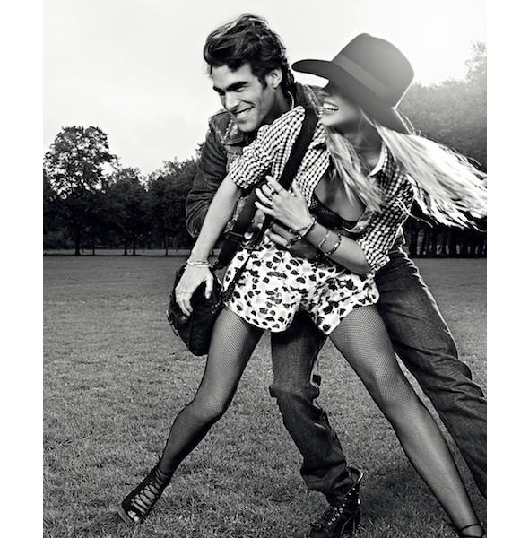 Изображение 31. Рекламные кампании: Fendi, Pepe Jeans и Trussardi 1911.. Изображение № 31.