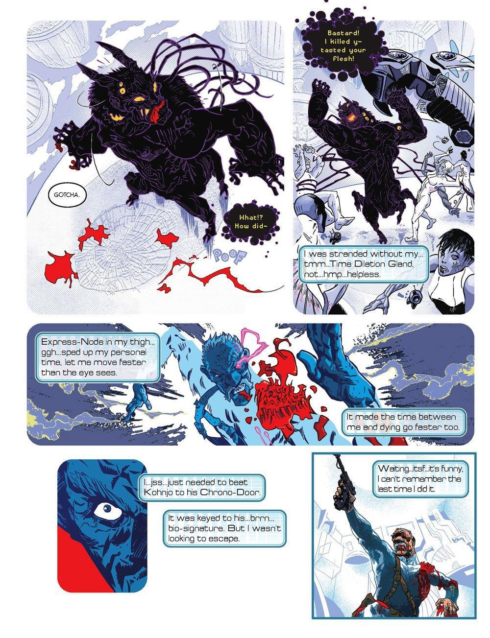 Как стать художником мирового издательства комиксов. Изображение № 9.