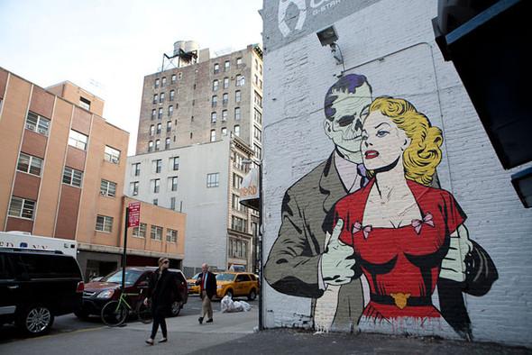DFace в Нью-Йорке. Изображение №2.