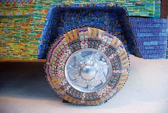 """""""Дом мечты"""", сделанный из 70000 лотерейных билетов. Изображение № 9."""