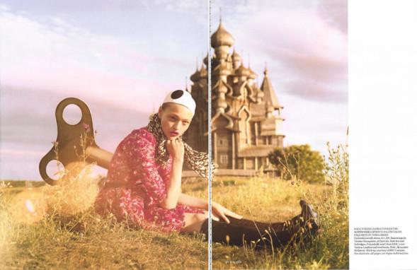 Magazine: Vogue UKJanuary 2007. Изображение № 16.