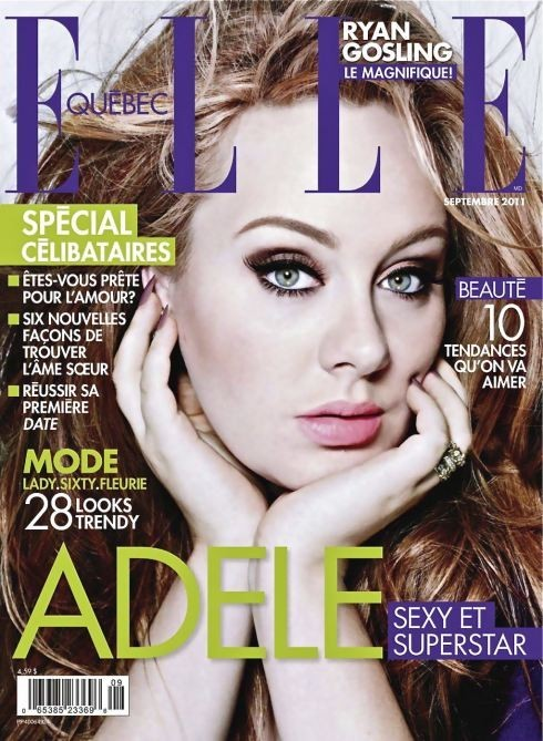 Обложки: Elle, Glamoholic, Marie Claire. Изображение № 1.