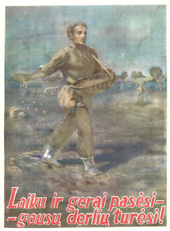 Искусство плаката вРоссии 1945–1953гг. Изображение № 39.