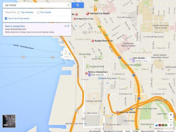 Google готовит редизайн интерфейса Google Maps. Изображение № 2.