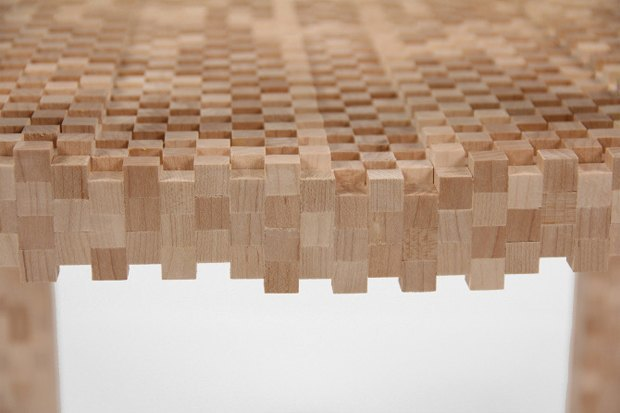 Глитч-мебель: красивые компьютерные ошибки в интерьере. Изображение № 19.