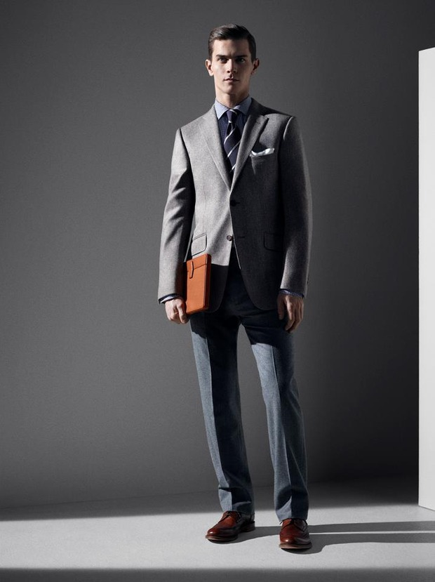 Alfred Dunhill lookbook casual wear Autumn Winter 2012. Изображение № 12.