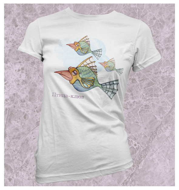 Изображение 22. Принтовые футболки.. Изображение № 22.