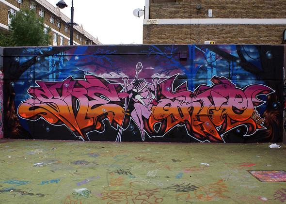 Стрит-арт в Лондоне. Изображение № 28.