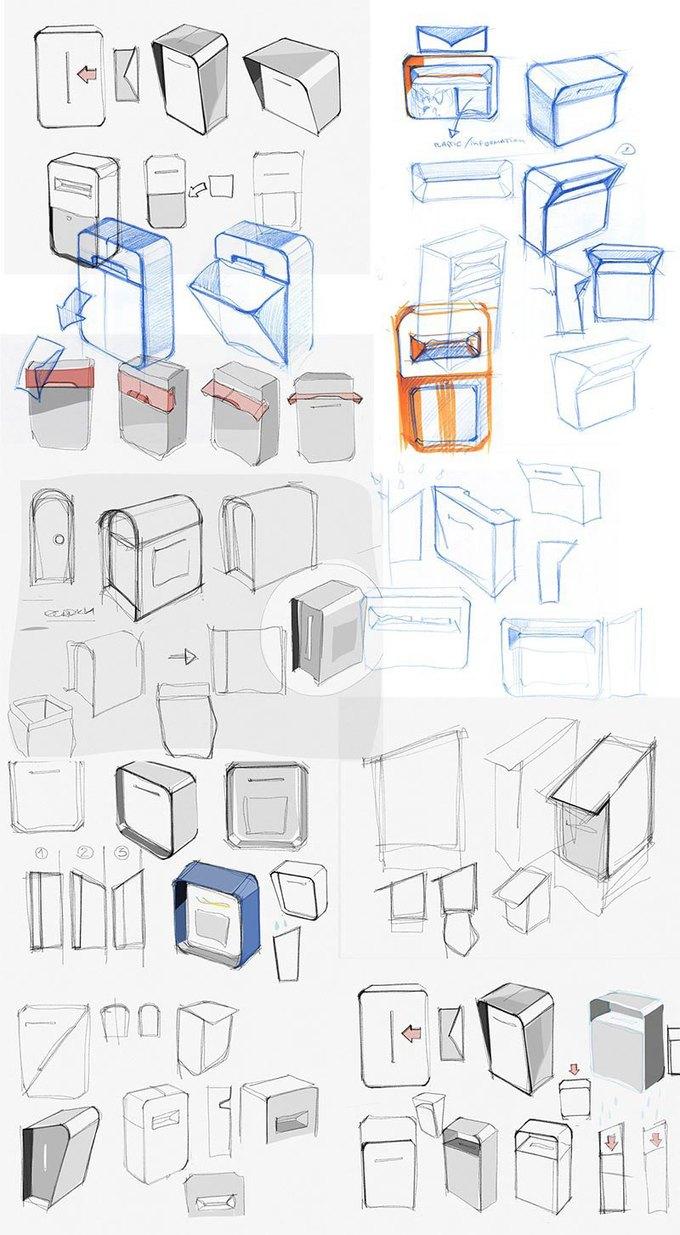 Студия Лебедева разработала дизайн почтовых ящиков. Изображение № 9.