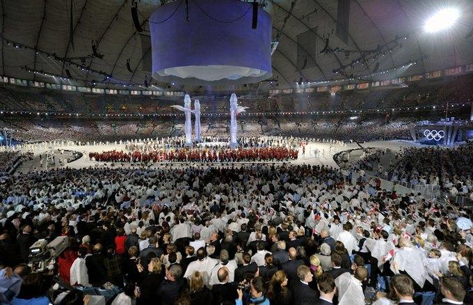 Церемония открытия XXI Зимних Олимпийских игр в Ванкувере. Изображение № 1.