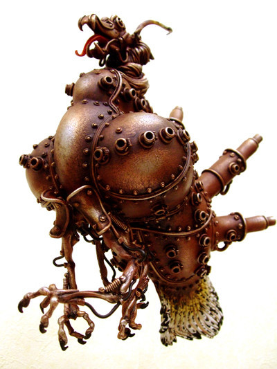 Фантастические скульптуры животных Мишихиро Матсуока. Изображение № 2.