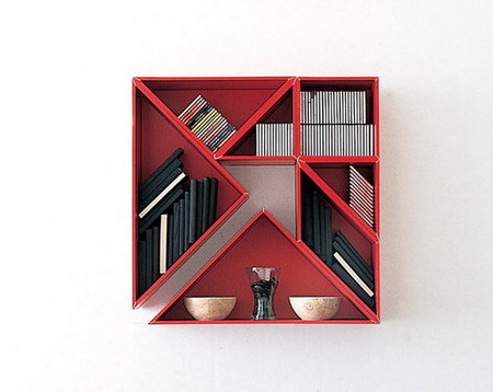 Геометрия книжных полок. Изображение № 1.