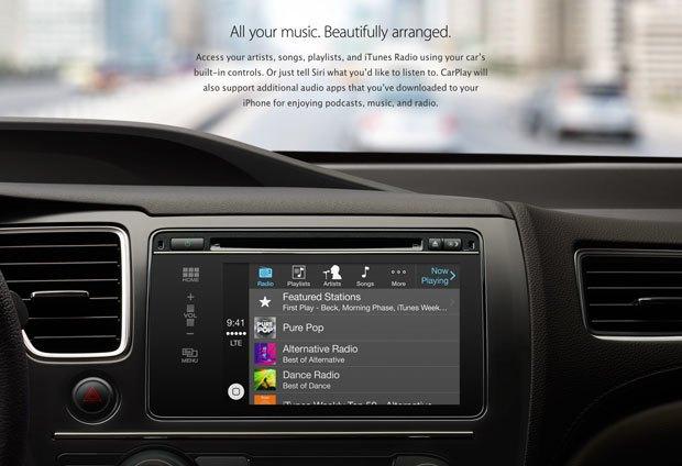 Apple анонсировала CarPlay . Изображение № 2.