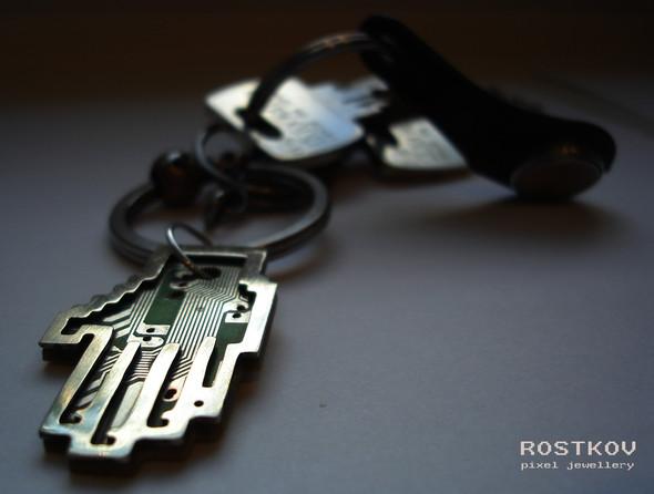 Олег Ростков. Pixel Jewellery. Изображение № 5.
