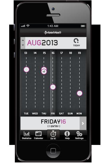 Spreadsheets: Как оценить свои сексуальные навыки с помощью iPhone. Изображение № 7.