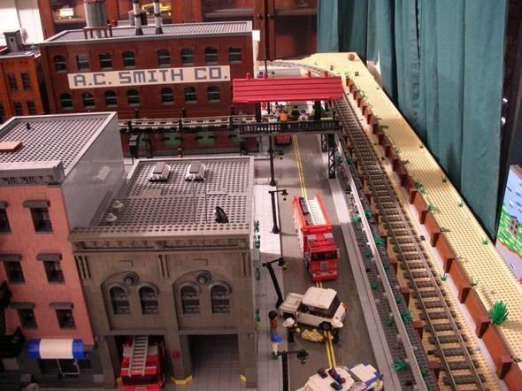 Изображение 2. Улицы Нью-Йорка из конструктора LEGO.. Изображение № 2.