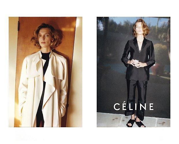 Alexander McQueen, Celine и LUBLU Kira Plastinina показали новые кампании. Изображение № 23.
