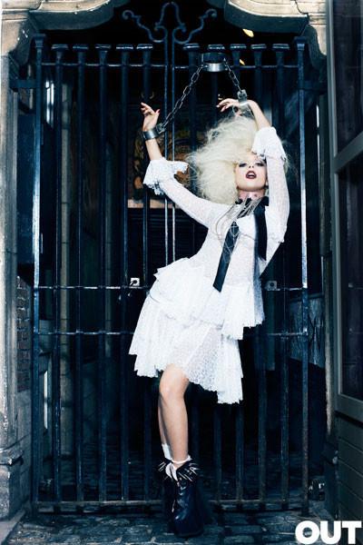 Lady Gaga дляOUT (Сентябрь 2009). Изображение № 3.