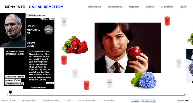 В интернете открылось свое кладбище. Изображение №1.