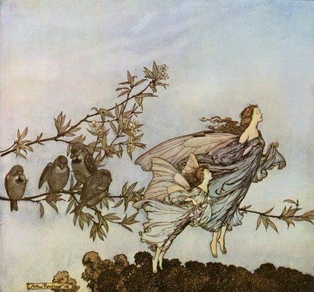 Arthur Rackham (1867–1939). Изображение № 21.