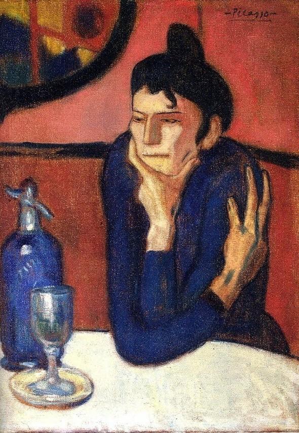 Пабло Пикассо, Любительница абсента. Изображение № 28.