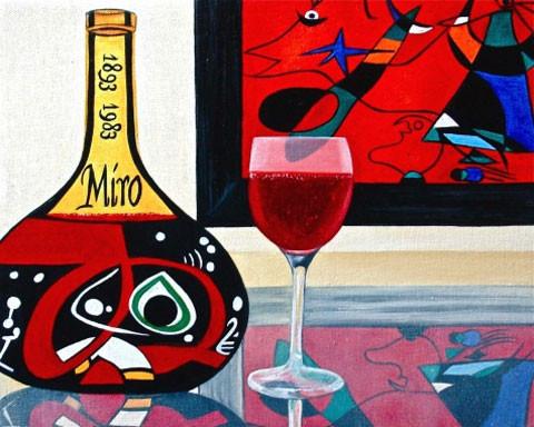 K. Madison Moore - знает толк в вине и живописи ХХ века. Изображение № 7.