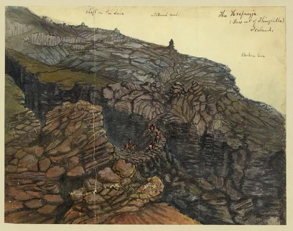 Исландия в середине XIX века: путевые рисунки американского дипломата. Изображение № 6.