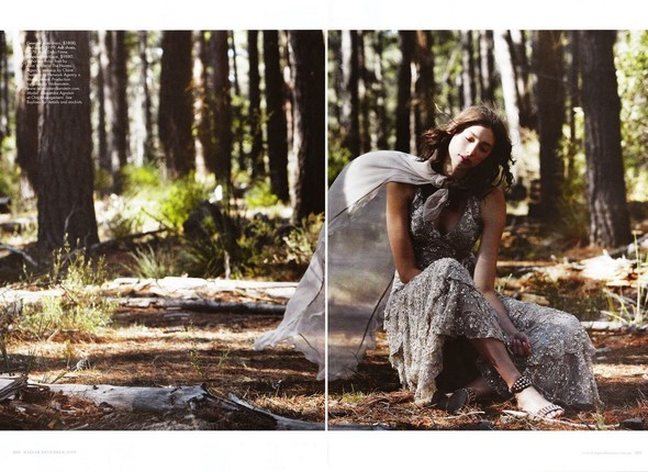 The Wild Things in Australian Harpers Bazaar Dec 09. Изображение № 3.