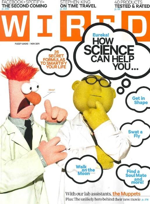 Самые красивые обложки журналов в 2011 году. Изображение № 114.