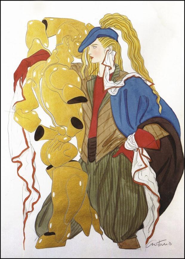 Antonio Lopez - легендарный fashion-иллюстратор. Изображение № 20.