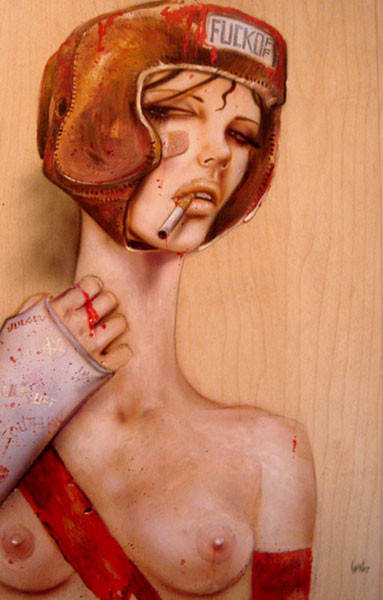 Brian M. Viveros - Американский художник. Изображение № 14.